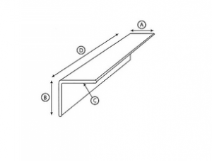 Corner boards are ordered by leg length, caliper and length and are priced by the foot.